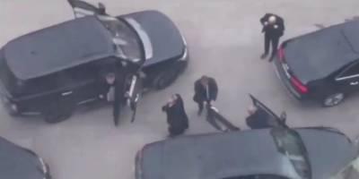 Çakarlı araç konvoyuyla adliyeye giriş yaptığı öne sürülen 'organize suç örgütü lideri'