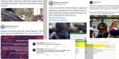 Boğaziçi Üniversitesi'ndeki olayların kronolojisi