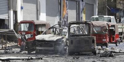 Somali'de yola döşenen bomba patladı: 10 ölü