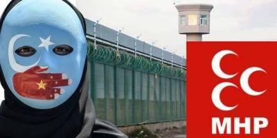 MHP Doğu Türkistan meselesinde kuzuların sessizliğine bürünüyor!