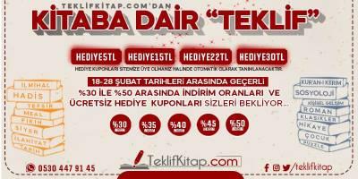 """Teklifkitap.com'dan KİTABA DAİR """"TEKLİF"""""""