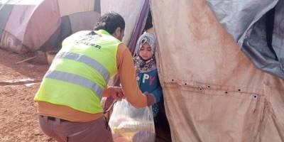 İdlib'e yönelik başlatılan 'Kardeşliğimiz Daima Sıcak' yardım kampanyası devam ediyor