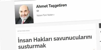Türkiye'deki güncel gelişmeler bağlamında hak ve adalet mücadelesinin zorlukları
