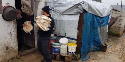 Fukara-Der 2020 yılında Suriye'de 320 bin paket ekmek dağıttı