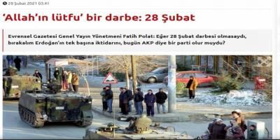 Sol-Kemalistlerin '28 Şubat dindarlara yaradı' saçmalığı!