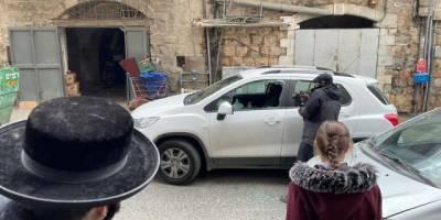 İşgalci Siyonistler Anadolu Ajansı ekibine saldırdı