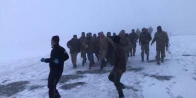 Tatvan'da askeri helikopter kazası