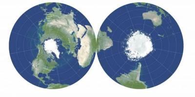 Dünya'nın gerçeğe en yakın yeni haritası