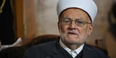 Şeyh İkrime Sabri serbest bırakıldı