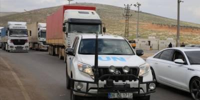 Birleşmiş Milletler, İdlib'e 83 tır gıda ve çadır yardımı gönderdi