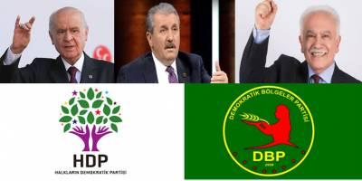 Milliyetçiler zafer nidası atarken, HDP'nin stepnesi DBP hazır!