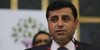 Selahattin Demirtaş'a Cumhurbaşkanı'na hakaretten hapis cezası