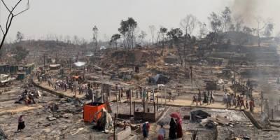 Bangladeş'te Arakanlı Müslümanların kampında çıkan yangının ağır bilançosu açıklandı