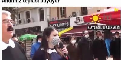 Karar gazetesi İYİ Partililerin komik eylemini çok beğenmiş