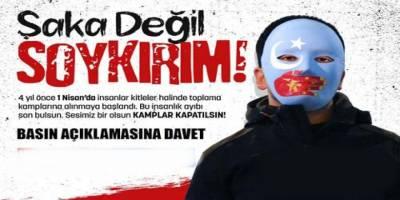 Doğu Türkistan: Şaka değil soykırım!