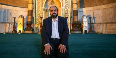 Ayasofya İmamı Mehmet Boynukalın istifa etti