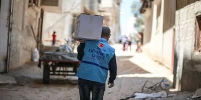 TDV, Suriye'de 30 bin ihtiyaç sahibine iftarlık dağıtacak