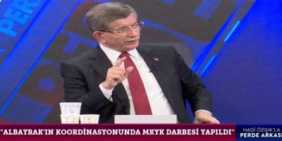 """Davutoğlu: """"MKYK'da bana karşı bir MKYK darbesi yapıldı"""""""