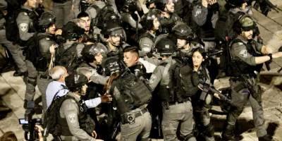 Siyonist İsrail polisi Filistinli gençlere saldırılarını sürdürüyor