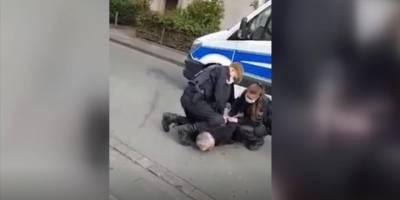 Almanya'da Türkiyeli iş adamı polis şiddetine maruz kaldı