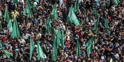 Filistin seçimlerinin ertelenmesi kararı Gazze'de protesto edildi