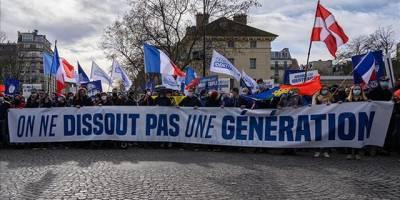 """Fransa'da İslam karşıtı """"Generation Identitaire"""" grubunun faaliyetlerine son verildi"""