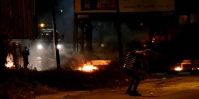 Siyonist İsrail askerleri Batı Şeria'daki protestoya saldırdı: 13 yaralı