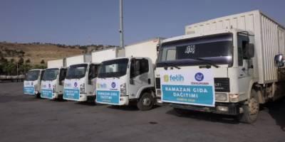 Fetih-Der ve Özgür-Der'den Ramazan yardım çalışmaları