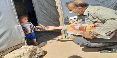 Seyidoğlu Gıda bayramda Suriyeli çocukların yüzünü güldürdü