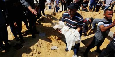Siyonist İsrail'in saldırılarında şu ana kadar 34 çocuk şehit edildi