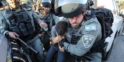 Siyonist İsrail güçleri Doğu Kudüs'te 25 Filistinliyi gözaltına aldı