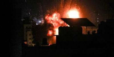 İsrail'in Gazze'ye hava saldırıları sürüyor
