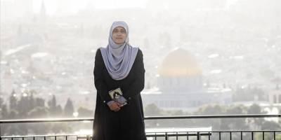 Mescid-i Aksa'nın gönüllü kadın muhafızı: Aksa'yı ölene kadar korumaya devam edeceğim