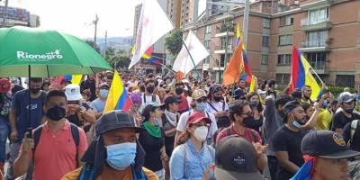 Kolombiya'da hükümet karşıtı protestolar 25. gününde devam ediyor