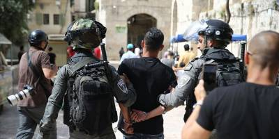 İsrail güçleri Batı Şeria ve Doğu Kudüs'te son 9 günde 175 Filistinliyi gözaltına aldı