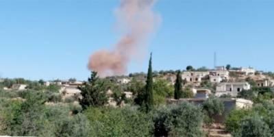 Rusya ve Esed İdlib'i yoğun şekilde bombalıyor