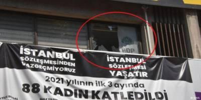 HDP'ye yönelik saldırıda 1 parti çalışanı hayatını kaybetti