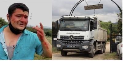 İYİ Partili Lütfü Türkkan'ın kaçak binalarının yıkımını görüntüleyen gazeteci darp edildi!