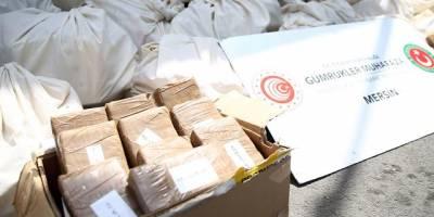 Mersin Limanı'nda 463 kilogram kokain daha ele geçirildi