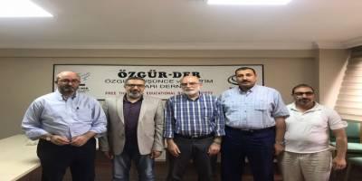 Mısır Dernekler Federasyonu Özgür-Der'i ziyaret etti