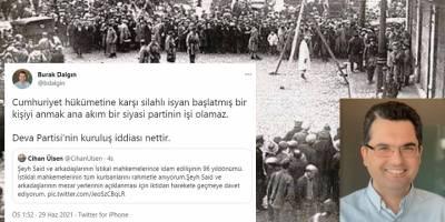 Deva Partisinin kuruluş iddiası nettir: 'İstiklal mahkemeleri'