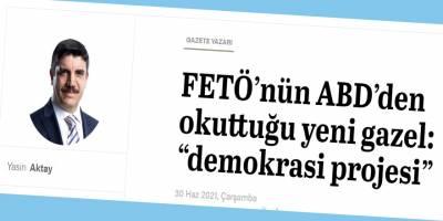 'Türk Demokrasi Projesi Derneği' kimin projesi?