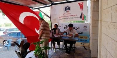 Türkiye'den mezun olan Filistinliler, Batı Şeria'da halka ücretsiz sağlık hizmeti sundu