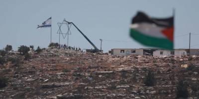 Batı Şeria'da işgal sırası Yahudi çobanlarda