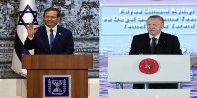 Cumhurbaşkanı Erdoğan Siyonist Herzog ile görüştü