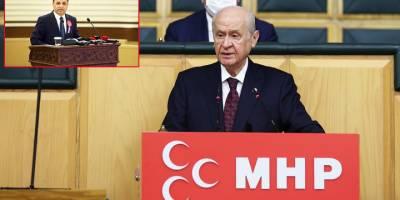 Bahçeli'den AYM Başkanı Arslan'a tehdit!