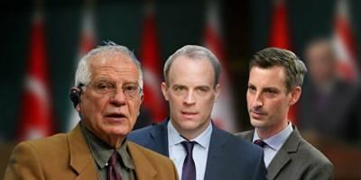 Batılı liderler Cumhurbaşkanı Erdoğan'ın Maraş açıklaması sonrası Türkiye'yi hedef aldılar