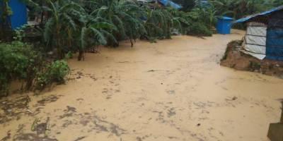Bangladeş'te sel: 12 bin Arakanlı Müslüman etkilendi