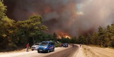 Manavgat'taki yangına müdahale eden 2 işçi hayatını kaybetti