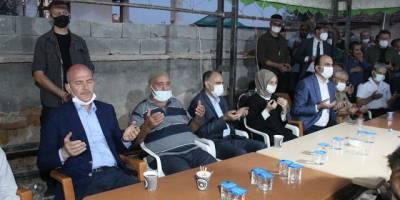 Soylu'dan Konya'da katledilen 7 kişinin yakınlarına taziye ziyareti